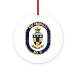 USS Coronado (AGF 11) Ornament (Round)