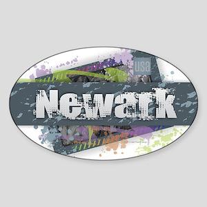 Newark Design Sticker