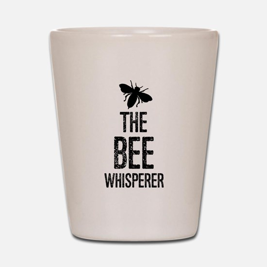 The Bee Whisperer Shot Glass