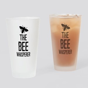The Bee Whisperer Drinking Glass