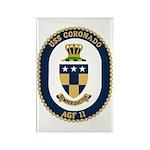 USS Coronado (AGF 11) Rectangle Magnet (10 pack)