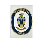 USS Coronado (AGF 11) Rectangle Magnet (100 pack)