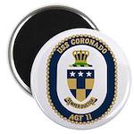 "USS Coronado (AGF 11) 2.25"" Magnet (10 pack)"