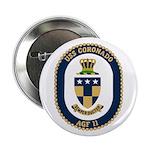 "USS Coronado (AGF 11) 2.25"" Button (100 pack)"