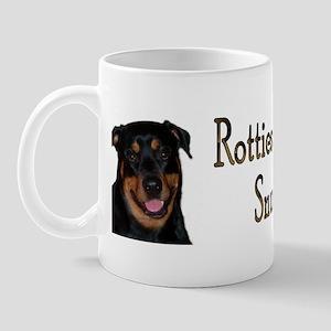Rotties are Sungglebears Mug