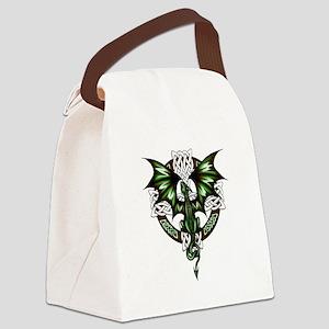 Celtic Dragon Canvas Lunch Bag