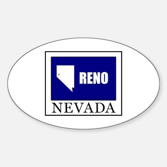 Cute Silver state Sticker (Oval)