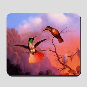 Green Throated Hummingbird Mousepad