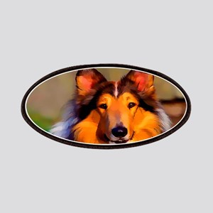 Collie Dog Patch