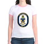 USS Coronado (AGF 11) Jr. Ringer T-Shirt