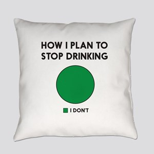 How I plan to stop drinking Everyday Pillow