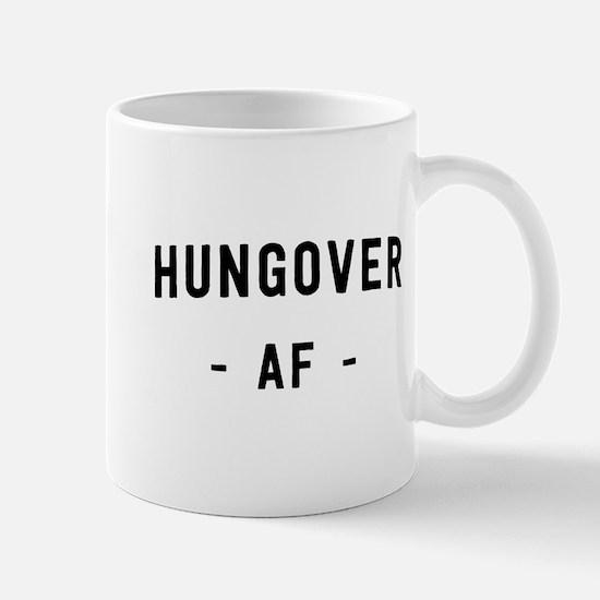 Hungover AF Mugs