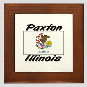 Paxton Illinois Framed Tile