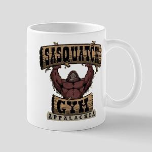 Sasquatch Gym Mugs