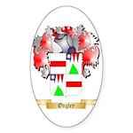 Ongley Sticker (Oval 50 pk)