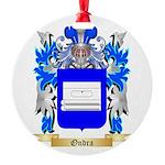 Ondra Round Ornament