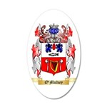 O'Mulvey 35x21 Oval Wall Decal