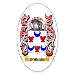 O'Mulally Sticker (Oval)