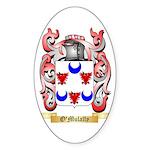 O'Mulally Sticker (Oval 10 pk)