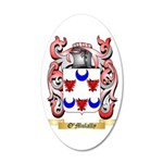 O'Mulally 35x21 Oval Wall Decal