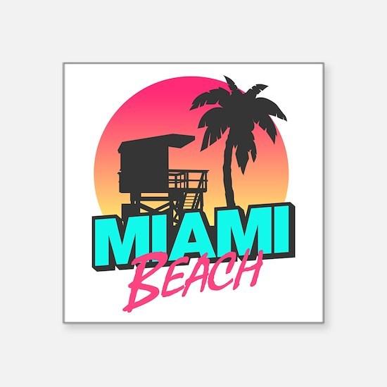 Miami beach Sticker
