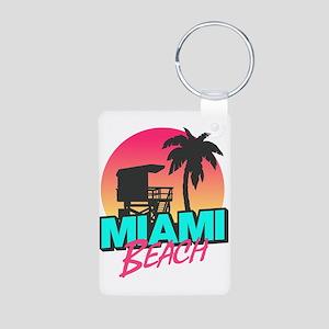 Miami beach Keychains