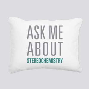 Stereochemistry Rectangular Canvas Pillow