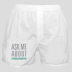 Stereochemistry Boxer Shorts