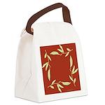 Pea Square Canvas Lunch Bag