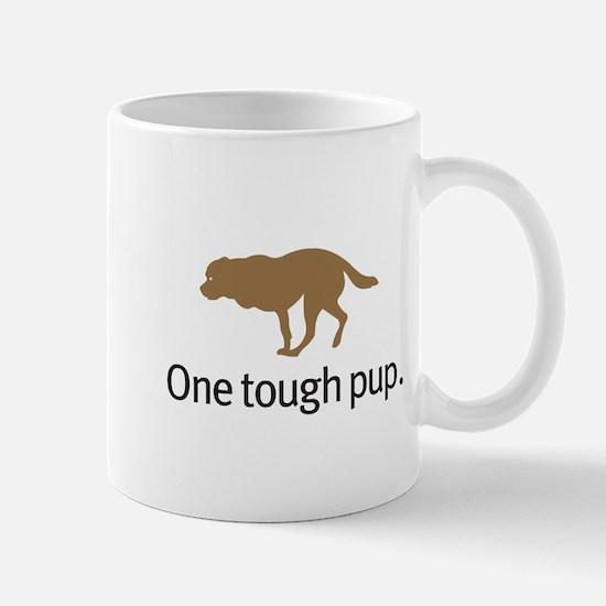 Dog cancer awareness Stainless Steel Travel Mugs