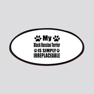 Black Russian Terrier is simply irreplaceabl Patch