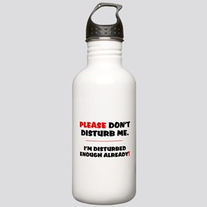 PLEASE DONT DISTURB ME Stainless Water Bottle 1.0L