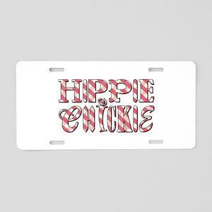 HIPPIE CHICKIE Aluminum License Plate