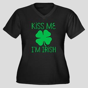 Kiss Me I'M Irish Plus Size T-Shirt