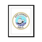 USS Lookout (AGR 2) Framed Panel Print