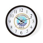 USS Lookout (AGR 2) Wall Clock