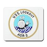 USS Lookout (AGR 2) Mousepad