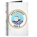USS Lookout (AGR 2) Journal