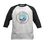 USS Lookout (AGR 2) Kids Baseball Jersey