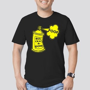 Bull Crap B Gone Spray Men's Fitted T-Shirt (dark)