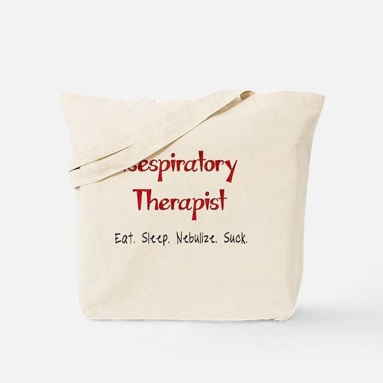 Funny Respiratory Therapist Tote Bag