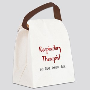 Funny Respiratory Therapist Canvas Lunch Bag