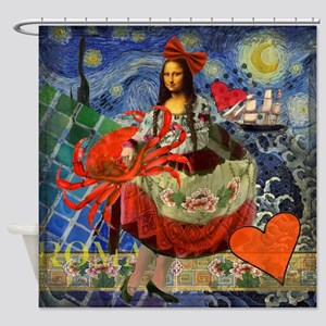 Mona Lisa Cancer Gothic Whimsical Van Gogh Starry