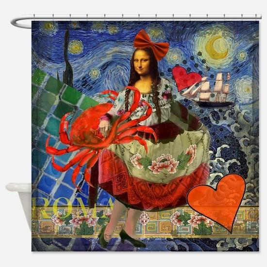 Mona Lisa Cancer Gothic Whimsical Van Gogh Starry