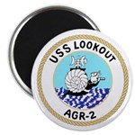 USS Lookout (AGR 2) Magnet