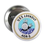 """USS Lookout (AGR 2) 2.25"""" Button (10 pack)"""