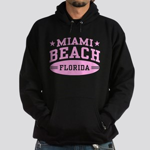 Miami Beach Florida Hoodie (dark)