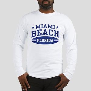 Miami Beach Florida Long Sleeve T-Shirt