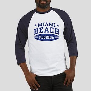 Miami Beach Florida Baseball Jersey