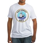USS Lookout (AGR 2) Fitted T-Shirt